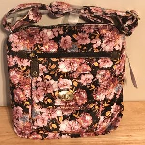 Floral Crossbody Handbag